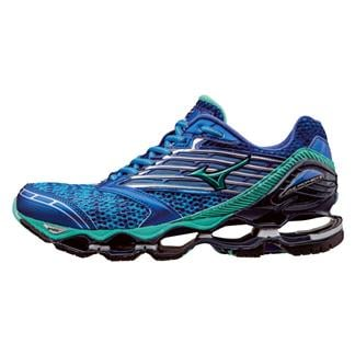Mizuno Wave Prophecy 5 Diva Blue / Electric Green / Dazzling Blue