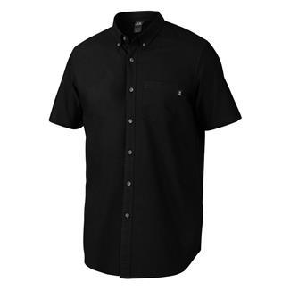 Oakley Foundation Woven Button Up Jet Black