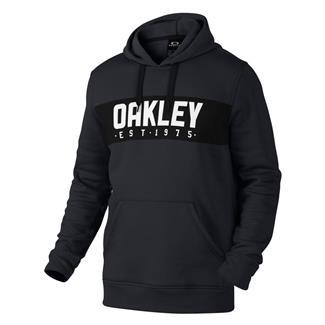 Oakley Hooded Fleece Jet Black Heather