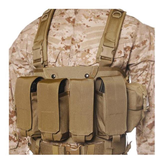 Blackhawk Commando Chest Harness Coyote Tan