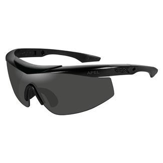 Wiley X WX Talon Matte Black (frame) - Smoke Gray / Clear (2 Lenses)