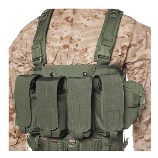 Blackhawk Commando Chest Harness Olive Drab