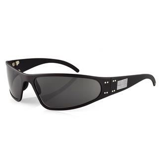 Gatorz Wraptor Patriot Edition Matte Black / Smoked Polarized