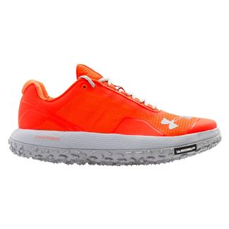 Under Armour Fat Tire Bolt Orange / Overcast Gray / Flash Light