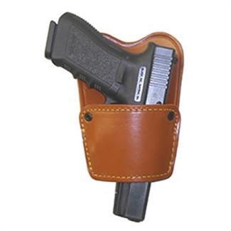 Gould & Goodrich Concealment Belt Slide Holster with Removable Body Shield Chestnut Brown