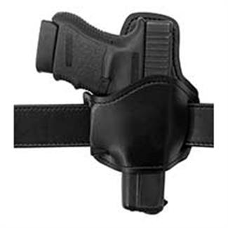 Gould & Goodrich Low Profile Belt Slide Holster with Removable Body Shield Black