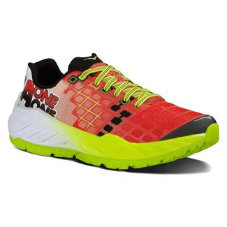 Hoka One One Clayton Poppy Red / Acid