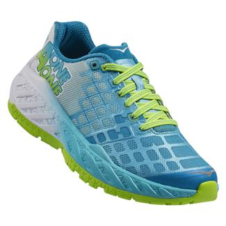 Hoka One One Clayton Bright Green / Blue Atoll