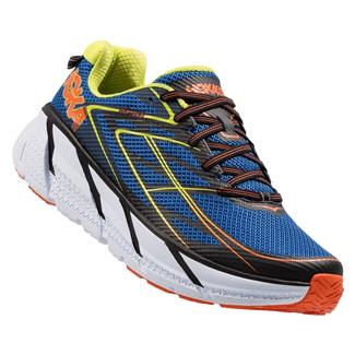 Hoka One One Clifton 3 Blue / Red Orange