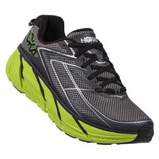 Hoka One One Clifton 3 Blue Graphite / Bright Green