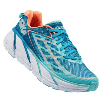 Hoka One One Clifton 3 Blue Jewel / Neon Coral
