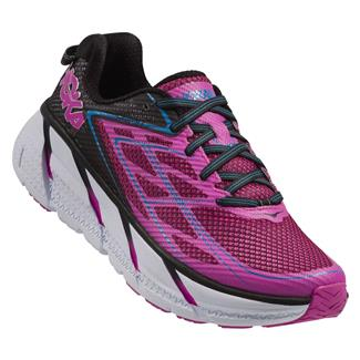 Hoka One One Clifton 3 Anthracite / Neon Fuchsia