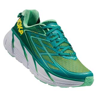 Hoka One One Clifton 3 Tropical Green / Spring Bud