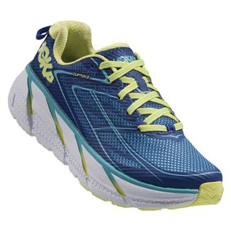 Hoka One One Clifton 3 True Blue / Sunny Lime