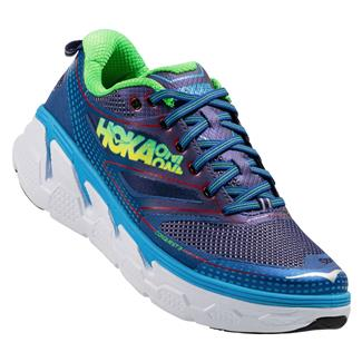 Hoka One One Conquest 3 Astral Aura / Neon Green