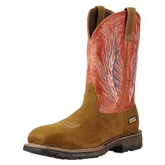 Ariat Workhog Mesteno II CT Rough Brown / Fire