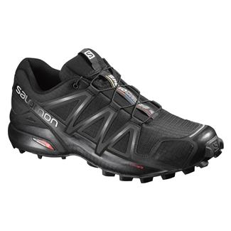 Salomon Speedcross 4 Black / Black / Black Metallic