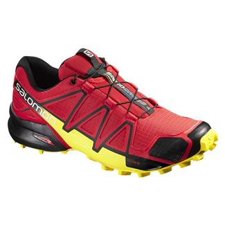 Salomon Speedcross 4 Radiant Red / Black / Corona Yellow