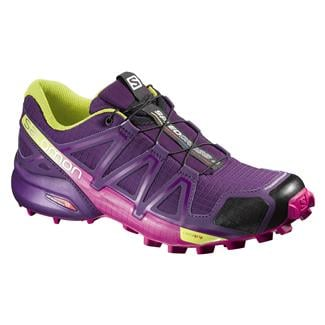 Salomon Speedcross 4 Cosmic Purple / Deep Dalhia / Gecko Green