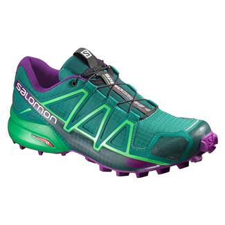 Salomon Speedcross 4 Veridian Green / Athletic Green X / Passion Purple