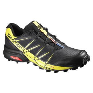 Salomon Speedcross Pro Black / Black / Corona Yellow