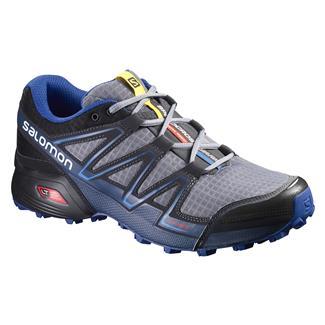 Salomon Speedcross Vario Pearl Gray / Black / Bright Blue