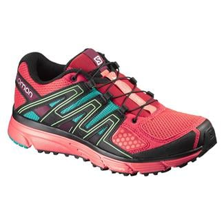 Salomon X-Mission 3 infared / Coral Punch / Teal Blue F