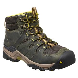 Keen Gypsum II Mid WP Forest Night / Warm Olive
