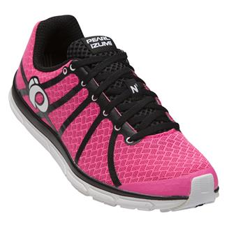 Pearl Izumi Road N1 v2 Black / Screaming Pink