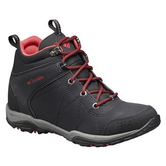 Columbia Fire Venture Mid WP Black / Burnt Henna
