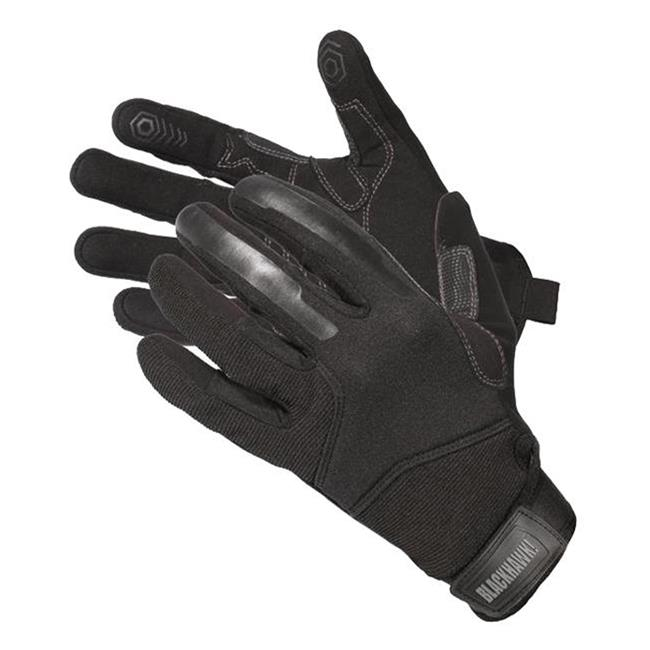 Blackhawk CRG1 Cut Resistant Patrol Gloves w/Kevlar Black