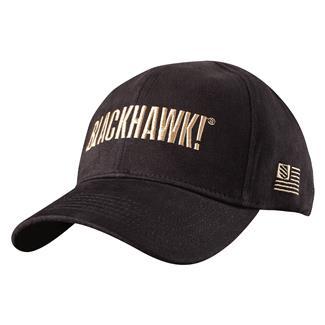 Blackhawk Logo Fitted Cap Black / Fatigue