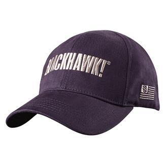 Blackhawk Logo Fitted Cap Navy / Steel