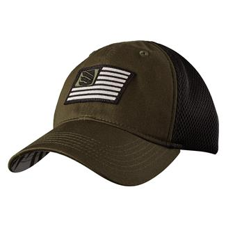 Blackhawk Flag Fitted Cap Jungle / Black