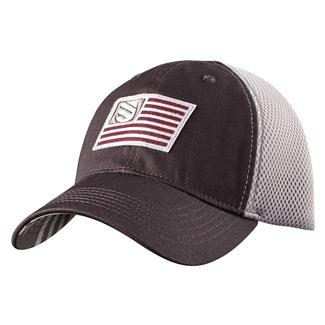 Blackhawk Flag Fitted Cap Slate / Steel