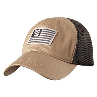 Blackhawk Flag Fitted Cap Stone / Slate