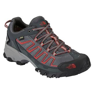 The North Face Ultra 109 GTX Zinc Gray / Pompeian Red