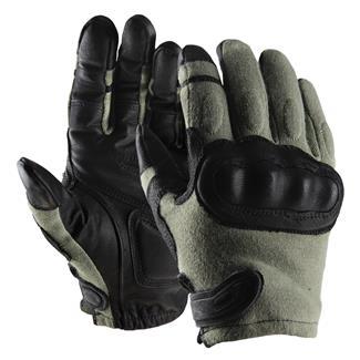 Hatch Operator Hard Knuckle Gloves Foliage / Black
