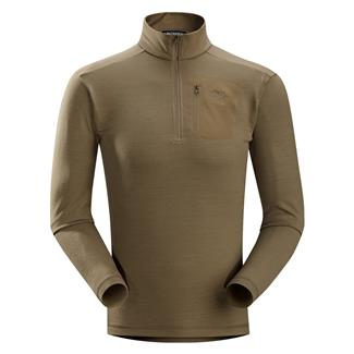 Arc'teryx LEAF RHO LTW Zip Neck Crocodile