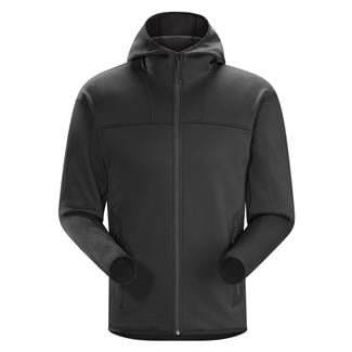 Arc'teryx LEAF Naga Hoodie Full Zip Black