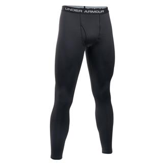 Under Armour ColdGear Base 3.0 Leggings Black / Battleship / School Bus
