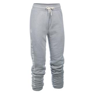 Under Armour ColdGear Favorite Fleece Pants True Gray Heather / White