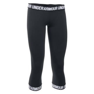 Under Armour Favorite Capris Black / White