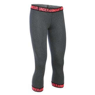 Under Armour Favorite Capris Carbon Heather / Brilliance