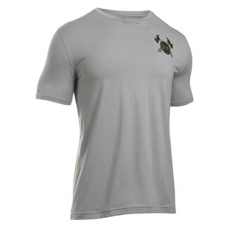 Under Armour First In Last Out T-Shirt True Gray Heather / Black