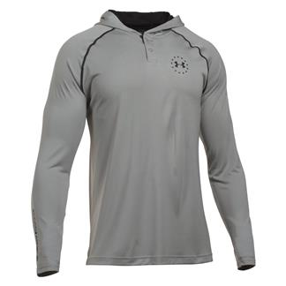 Under Armour Freedom Tech Hoodie True Gray Heather / Black