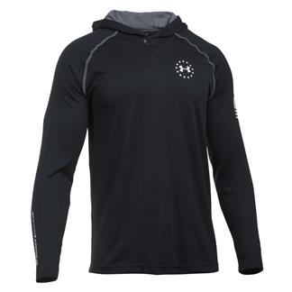 Under Armour Freedom Tech Hoodie Black / Halftone Graphite