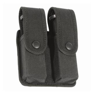 Blackhawk Divided Double Mag Case - Single Row Mag Black