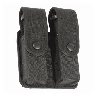 Blackhawk Divided Double Mag Case - Single Row Mag Black