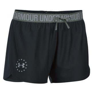 Under Armour HeatGear Freedom Shorts Black / Steel